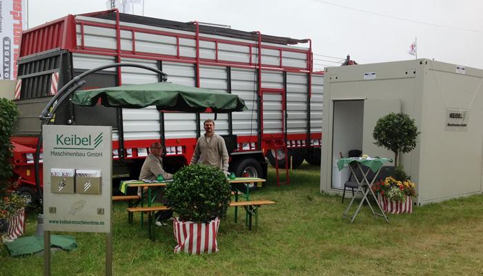 Erfolgreiche Produkteinführung: Unser Ladewagen für Heu und Gras
